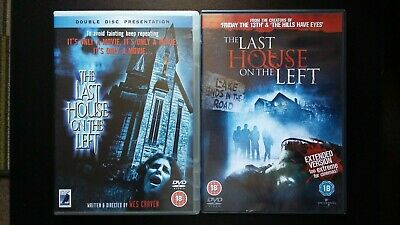 £3.25 • Buy The Last House On The Left X 2 - Both Versions  - DVD