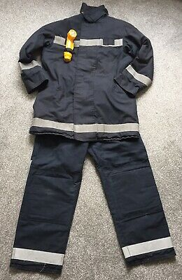 £30 • Buy Bristol Firefighter Kit Tunic And Trousers Early 2000's Fireman Uniform Torch