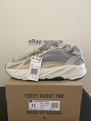 $ CDN430.68 • Buy Adidas Yeezy Boost 700 V2 Cream Size 12 GY7924 100% Authentic Ready To Ship DS