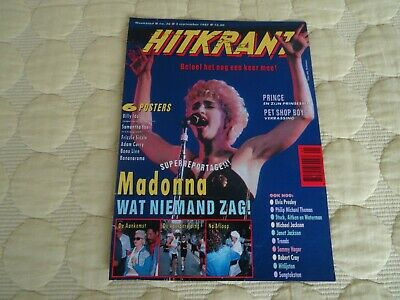 £3.99 • Buy Madonna Hitkrant Cover And Feature Who's That Girl Tour 5 September 1987 Papa