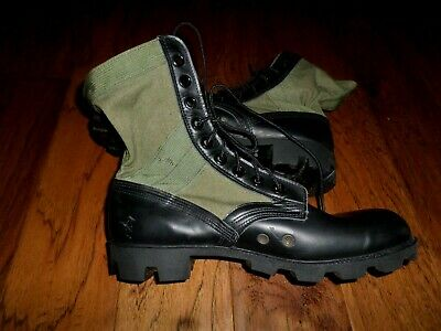 $99.98 • Buy U.s Military Issue Jungle Boots Panama Sole Ro Search Spike Protective 10r New