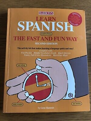 £4 • Buy Learn Spanish The Fast And Fun Way By Hammitt, F. Paperback Book The Cheap Fast