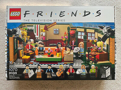 $49 • Buy LEGO Central Perk LEGO Ideas (21319) New Factory Sealed Never Opened