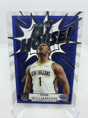 $20 • Buy 2020-21 Donruss Clearly -MY HOUSE- #9 ZION WILLIAMSON SP - New Orleans Pelicans