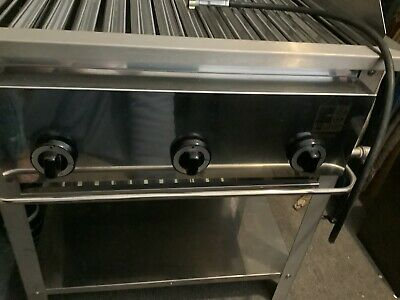 £1000 • Buy Stainless Steel Professional Chef Gas Barbecue Grill Outdoor Catering