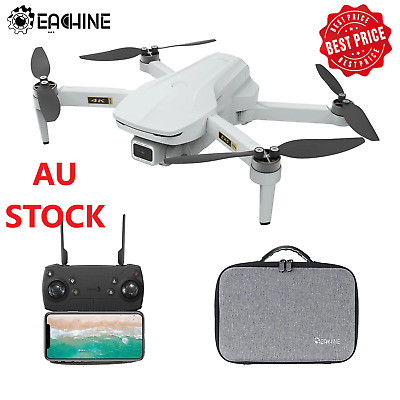 AU305.59 • Buy Eachine EX5 RC Drone Quadcopter With 4K HD Camera Foldable RTF Two Battery