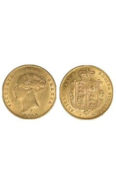 £250 • Buy Great Britain Queen Victoria Gold Half Sovereign Of The Year 1844