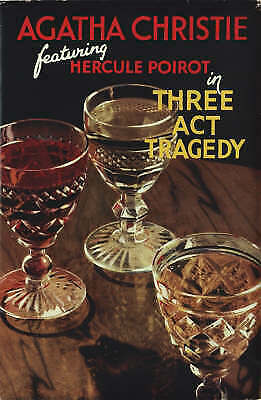 £7.40 • Buy Three Act Tragedy (Poirot) By Agatha Christie (Hardcover, 2006)
