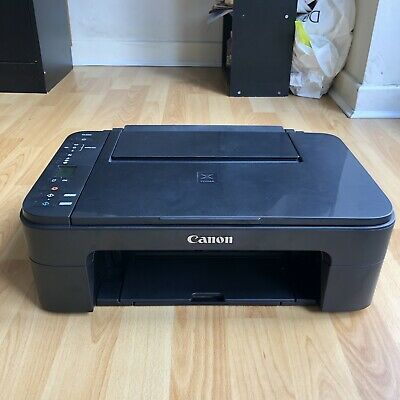 £5 • Buy (USED ONCE) Canon PIXMA TS3350 InkJet All-in-One Wireless Printer, Black