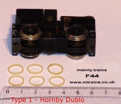 £6.20 • Buy Hornby Dublo Spares - Traction Tyres (6 Off): Correct Flat Profile