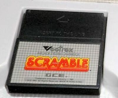 £10.07 • Buy VECTREX SCRAMBLE Game Only Very Good Condition 1982