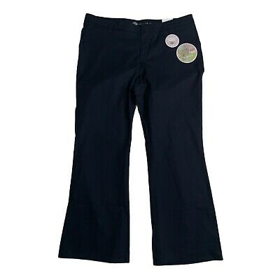 £17.90 • Buy Dickies Crafted For Women Stretch Twill Pants Slim Fit Bootcut Size 20 Reg Navy