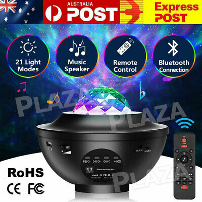 AU31.85 • Buy LED Galaxy Starry Night Light Projector Ocean Star Sky Party Kids Baby Room Lamp