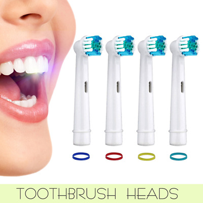 AU4.39 • Buy 4/8/20x Electric Toothbrush Replacement Heads Compatible Oral B Precision Clean