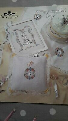 £3 • Buy A Very Special Day Cross Stitch Chart Booklet From DMC