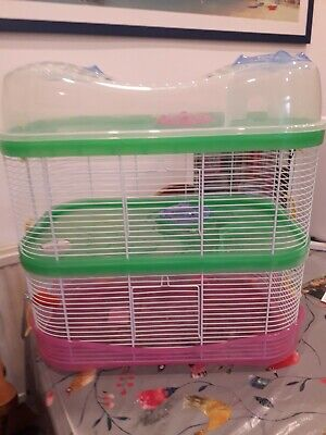 £0.99 • Buy Large Plastic Hamster Cage