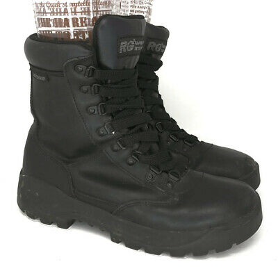 $41.77 • Buy Response Gear Mens 1026 Black Leather Tactical Combat Boots Lace Up Size 8.5