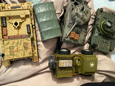 $40 • Buy Lot Of GI Joe And More Military Jeeps And Vehicle Parts