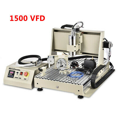 $1023 • Buy USB 3Axis / 4Axis/ 5Axis 1.5KW CNC 6040Z Router Engraver Miller Drilling Machine