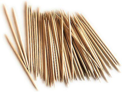 £1.89 • Buy 200 X Wooden Toothpick Cocktail Stick Disposable Birch Wooden New