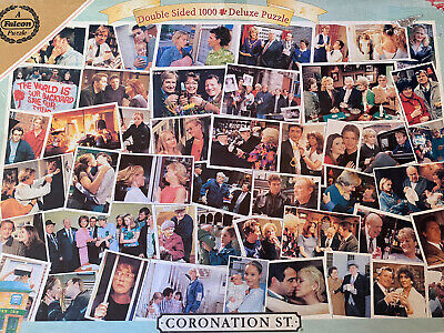 £4.99 • Buy Double-Sided 1000 Pce Deluxe Jigsaw: Coronation Street - Contemporary & Vintage
