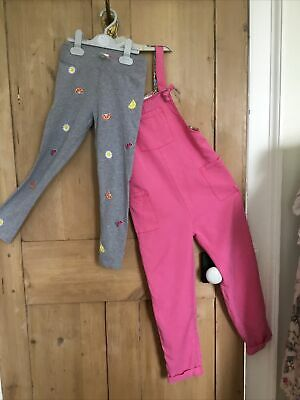 £8 • Buy Super Cute Boden Girls Leggings And Dungarees (  Bundle ) Age 7/8 Good Co