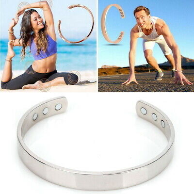 £2.99 • Buy Healing Gift Health Magnetic Bracelet Copper Bangle Arthritis Aid Therapy Pain