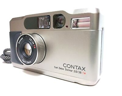 $ CDN1148.56 • Buy READ! [Exc+5 W/Strap] Contax T2 T2 Silver Point & Shoot Film Camera From JAPAN