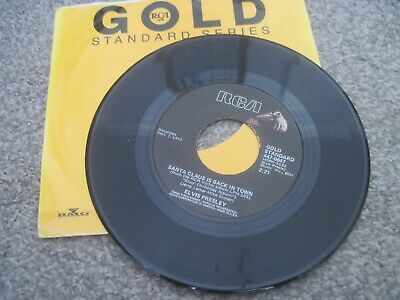 £2 • Buy ELVIS PRESLEY Santa Claus Is Back In Town  RCA GOLD STANDARD  USA  Near Mint