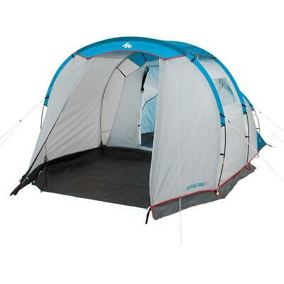 £133.99 • Buy QUECHUA ARPENAZ 4.1 FAMILY CAMPING TENT 4 MAN Person Waterproof Festival Hiking