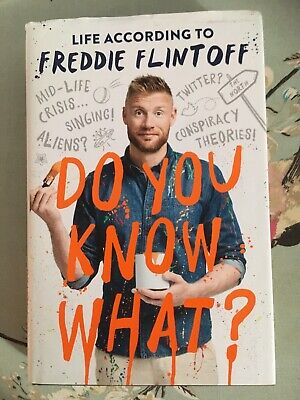 £3.50 • Buy Do You Know What?: Life According To Freddie Flintoff By Andrew Flintoff...