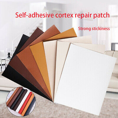 £5.69 • Buy Leather Patch Self Adhesive Large Size Stick-on 25x30cm No Ironing Sofa Rep Ak