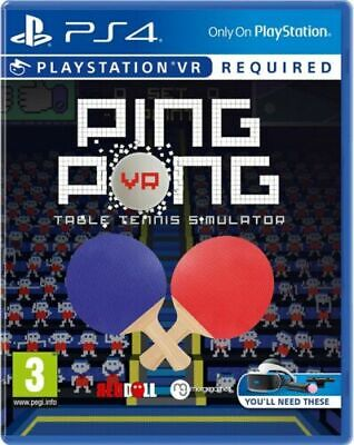 AU26.63 • Buy Ping Pong PS4 Playstation 4 VR Required EXCELLENT Condition FAST Dispatch