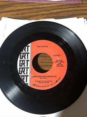£5.11 • Buy Mac Curtis Hurt Moves In Early Morning Grt 45 Rpm Vinyl Record #1160