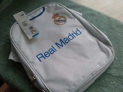 £7.99 • Buy Real Madrid Football Lunch Bag New @ Tags, Official Product