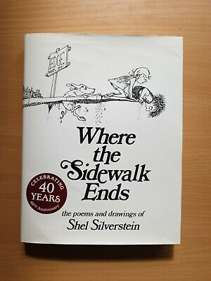 £8.70 • Buy Where The Sidewalk Ends, Very Good Condition Book, Silverstein, Shel, ISBN 00602