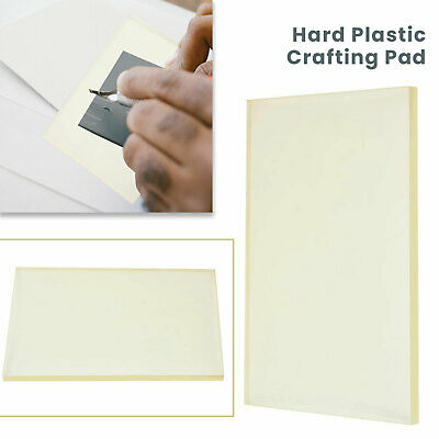 £10.49 • Buy Hard Plastic Board Hole Punching Cutting Mat Leather Crafts Stamping Pad Tool
