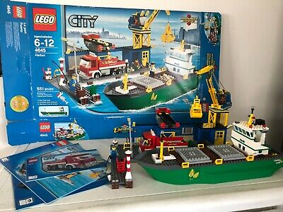£102.41 • Buy Lego City 4645 Harbor 2011 100% Complete Perfect Condition W/Box & Instructions
