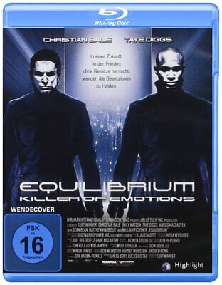 £10.99 • Buy Equilibrium (2002) * Christian Bale, Sean Bean * UK Compatible Blu-Ray New