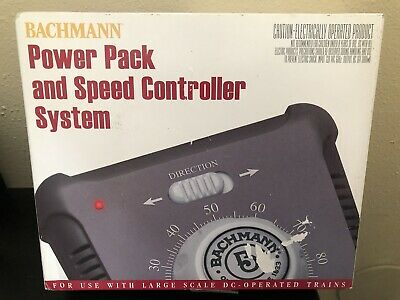 £36.64 • Buy Bachmann Power Pack And Speed Controller System #44213 New Opened Box
