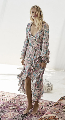 AU160 • Buy SPELL & The Gypsy Collective Sayulita Frill Gown - Size XS