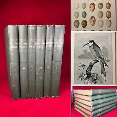£149.99 • Buy British Birds With Their Nests And Eggs — Butler & Frohawk Vol. 1-6 —Good C.1900