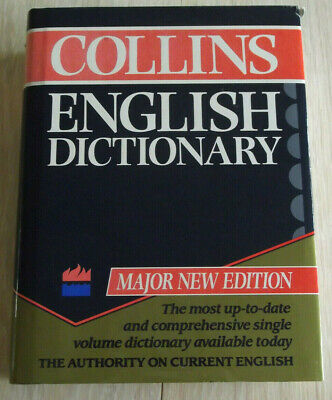 £3.50 • Buy Collins English Dictionary Third Edition