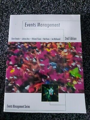 £8.99 • Buy Events Management 2nd Edition Bowdin Allen O'Toole
