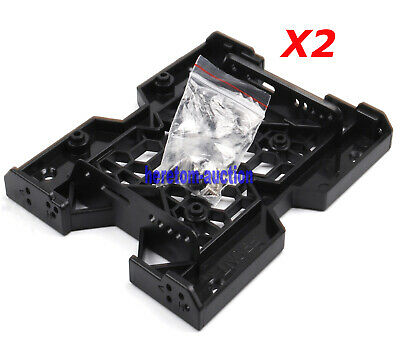 AU15.98 • Buy 2X 2.5 / 3.5 To 5.25 Drive Bay Computer Case Adapter HDD Mounting Bracket SSD