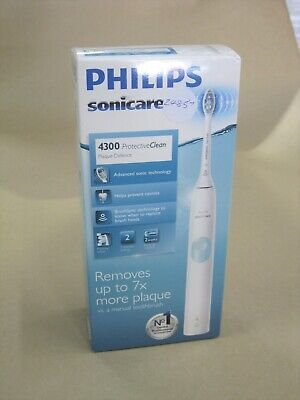 AU80 • Buy Philips Sonicare 4300 Protectiveclean Electric Toothbrush (white/mint)