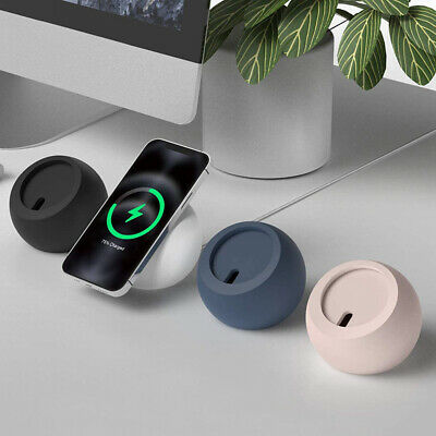 AU17.88 • Buy For IPhone 13 Magsafe Wireless Magnetic Charger Round Dock Charging Stand Holder
