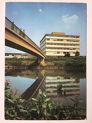 £9.94 • Buy UNIVERSITY Of SALFORD Posted 1986 Vintage Real Photo Postcard 1646