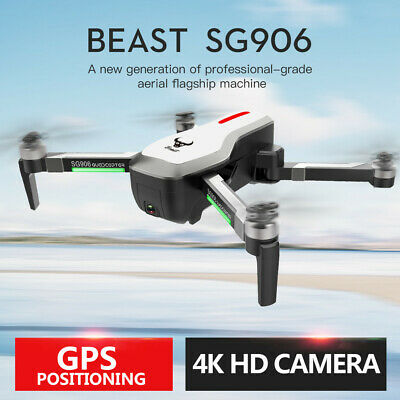 AU80.65 • Buy 5G WIFI Drone With 4K Ultra HD FPV Camera GPS/Optical Flow Brushless Quadcopter
