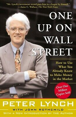 £7.99 • Buy One Up On Wall Street Use What You Already Know To Make Money, Peter Lynch Book